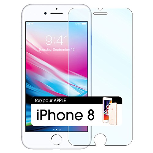 iPhone 8 Eye Protection Screen Protector   Anti-Blue Light (HEV) Premium Tempered Glass Screen Protector for Apple iPhone 8 [Anti-Scratch] [9H Hardness] Apple iPhone 8