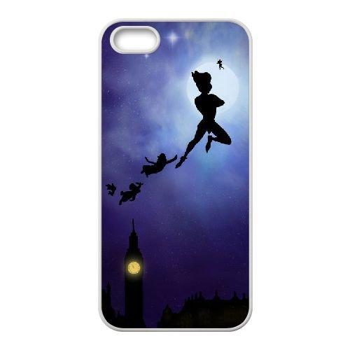 Peter Pan 002 coque iPhone 4 4S Housse Blanc téléphone portable couverture de cas coque EEEXLKNBC19526