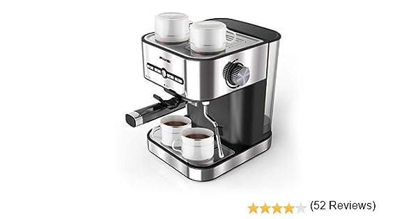 FIMEI Cafetera espresso,máquina de café espresso15 Bars,Cafetera ...