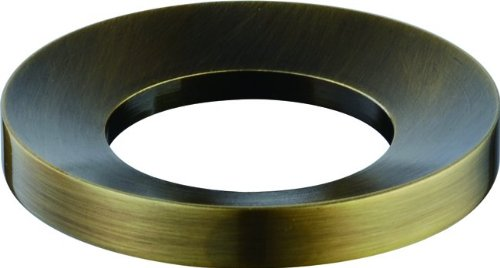 Exquisite 0.5'' Mounting Ring Finish: Antique Brass by Kraus