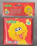 "Sesame Street Big Bird ""Colors"" Bath Time Bubble Book"