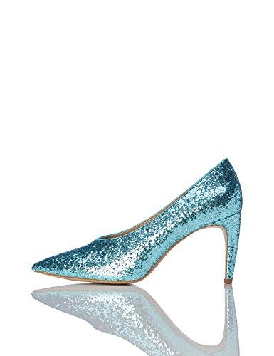 Décolleté Donna Verde Glitterate aqua Find TwdPqnEd