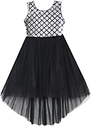 Girls Sequin Mesh Princess Tulle