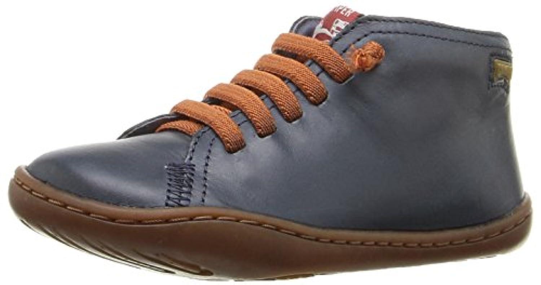 Camper Boys Peu Cami Kids Ankle Boots, Blue (Navy 064), 1 UK 33 EU