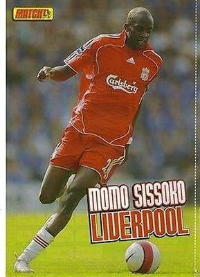 Cargadores de fútbol Liverpool MOMO SISSOKO Carlsberg camiseta de fotos de madera de