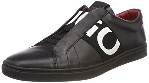 Glissement Hugo Herren De Post_slon_ltel Sur Chaussure Schwarz (black 001)