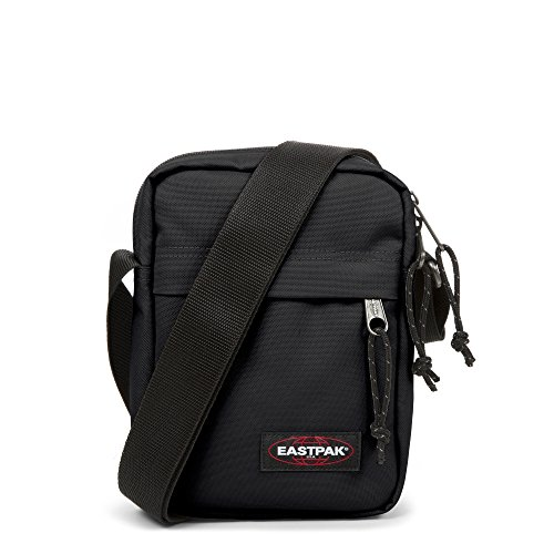 Eastpak The One Bolso Bandolera, Diseño Sunday, Color Gris Negro