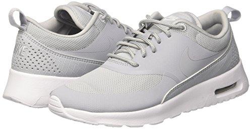 Wmns Thea De Max white wolf Deporte Mujer Zapatillas wolf Para Grey Grey Nike Air Gris FxHSwS4