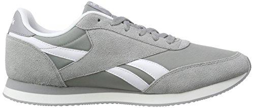 Flat Baseball Grey Reebok White Jogger Royal Classic Grey Grau Sneakers Herren 2 88qvx0n