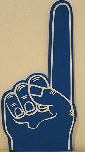 (HOTcraze Palm Printed Giant EVA Foam Hand Glove Pointy Finger (Blue))