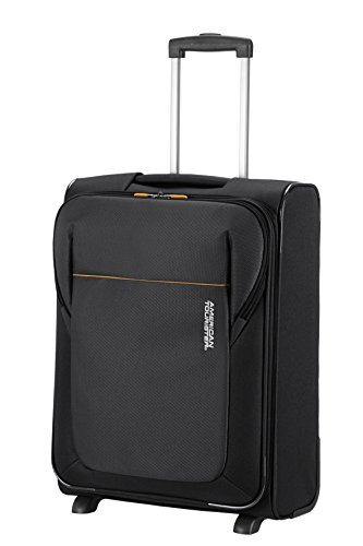 American Tourister San Francisco Upright S Strict Bagaglio a Mano, Poliestere, Black, 38.5 litri, 55 cm