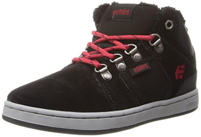 Etnies Kids High Rise, Boys' Technical Skateboarding Shoes, Black, 2 UK