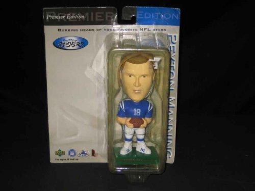 Bobbin' Bobbers #18 Peyton Manning Bobble - Head Bobbin