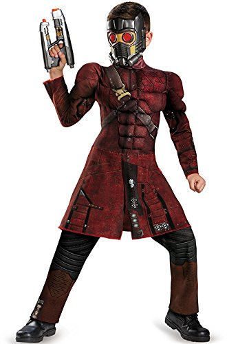 Disguise Marvel Guardians of The Galaxy Star-Lord Classic Muscle Boys Costume
