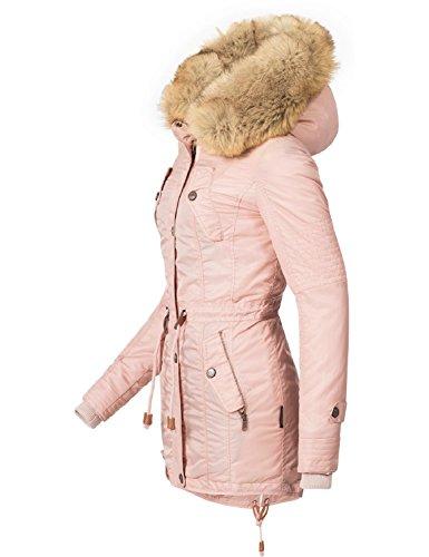 ... Navahoo Damen Mantel Wintermantel Winterparka La Viva (vegan  Hergestellt) 7 Farben + Camouflage XS ...
