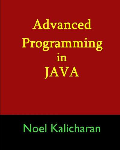 Advanced Programming In Java: 9781438283012: Computer Science Books