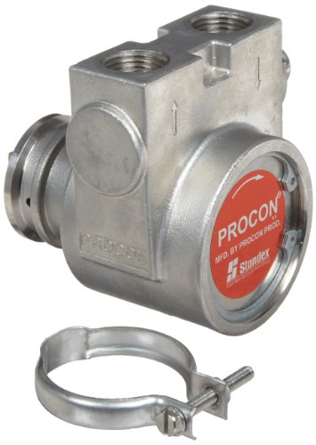 1/2 Inch Stainless Steel Funnel (Procon 115B190F31BA Stainless Steel Rotary Vane Pump, 1/2