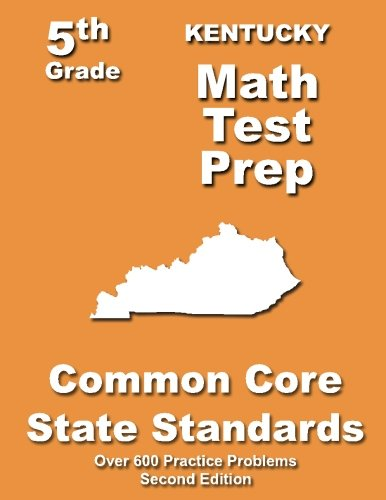 Kentucky 5th Grade Math Test Prep: Common Core Learning Standards