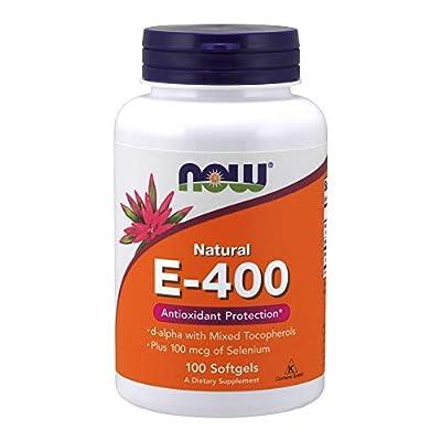 NOW Supplements, Vitamin E-400 IU, 100 Softgels