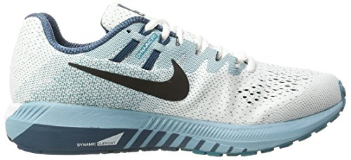 Space Blanc White Cerulean 20 Chaussures Air de Cassé Homme Nike Black Blustery Running Zoom Structure Blue AHwO8q1