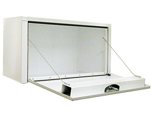 Buyers Products 1703405 White Steel Underbody Truck Box w/T-Handle Latch (14x16x36 Inch) by Buyers Products (Image #1)