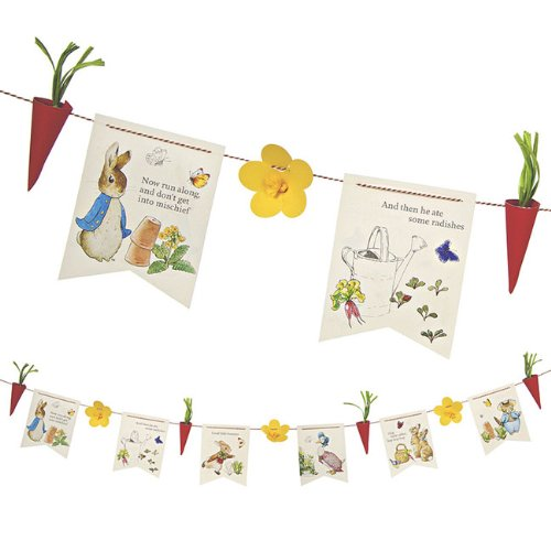 Meri Meri Party Garlands, Peter Rabbit (Party Supplies Uk)