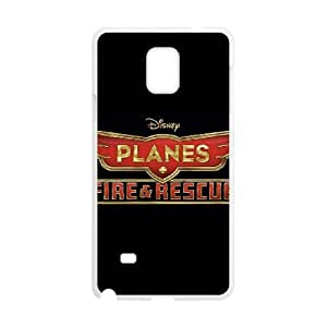 Planes Fire Rescue Samsung Galaxy Note 4 Cell Phone Case White g1856928