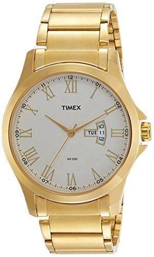 Timex Analog Silver Dial Men #39;s Watch   TW000X112