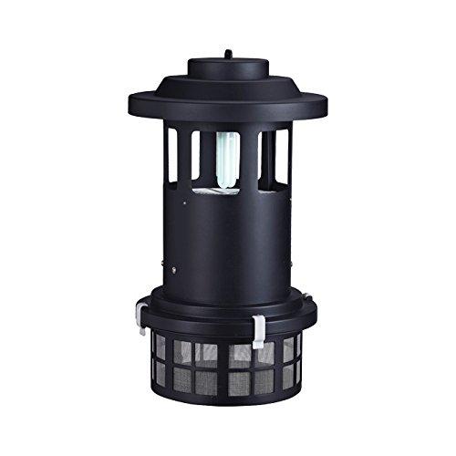Elettrosterminatore UVA Licht mit Aufnahme und Abfall Lüftereinsatz
