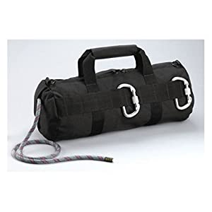 Black Tactical Stealth Rappelling Rope Bag Rappelling Gear 8170