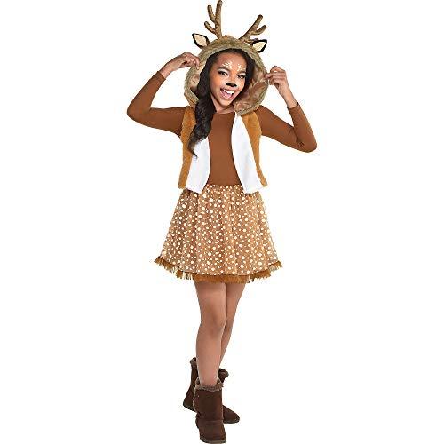 Oh Deer! Halloween Costume for Girls, Small, with Included Accessories, by Amscan]()