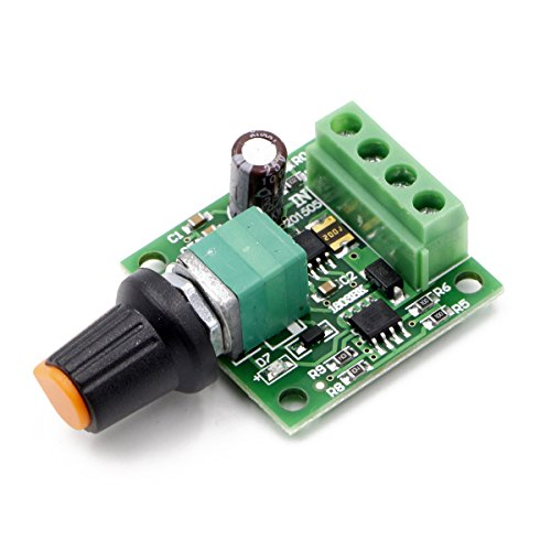 RioRand  Low Voltage Dc 1.8v 3v 5v 6v 12v 2a Motor Speed Controller PWM