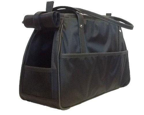 Petote Charlie Pet Carrier Bag, Black