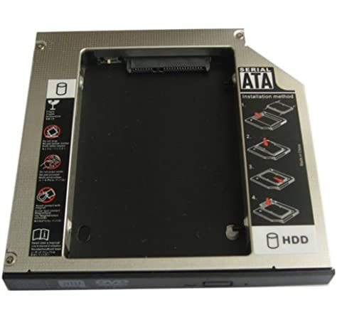 Generic 2nd Hard Drive Hdd Ssd Caddy for Apple Macbook 13 Early 2006 Core Duo