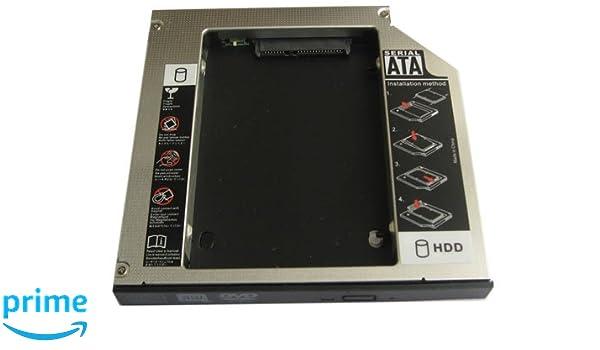 Genérico 2 nd bahía de Disco Duro SSD Disco Duro Caddy para ...