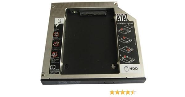 Generic Disco Duro 2 nd Disco Duro SSD Caddy Adaptador para ...