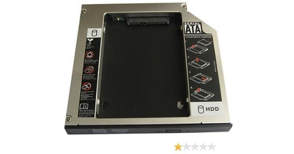 Generic 2 nd Disco Duro SSD Disco Duro Caddy Adaptador para ...