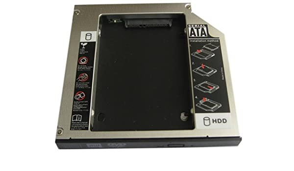 Generic 2 nd HDD Disco Duro SSD Caddy - Adaptador para Toshiba ...