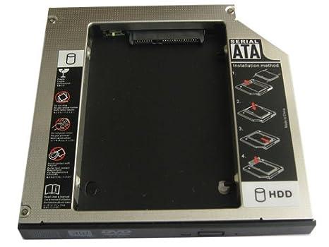 Generic 2 nd HDD Disco Duro SSD Caddy - Adaptador para Asus G51Jx ...