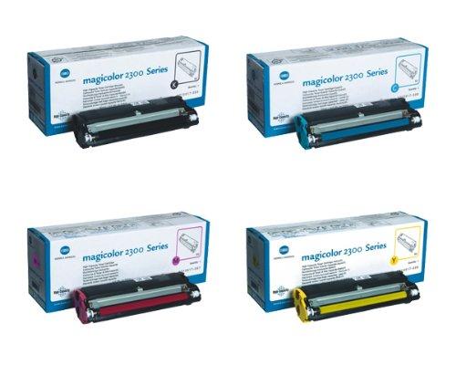 Konica Minolta Part # 1710517-005 1710517-006 1710517-007 1710517-008 OEM Toner Cartridge (Genuine Konica Part)