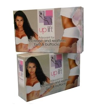 Uplift Crème Kit 2 Unid * Firm Ur Bust & Crème Fesses *, Crema Reafirma Busto Y glúteos