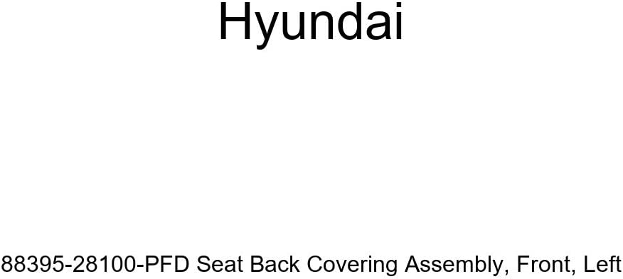 Left Front Genuine Hyundai 88395-28100-PFD Seat Back Covering Assembly