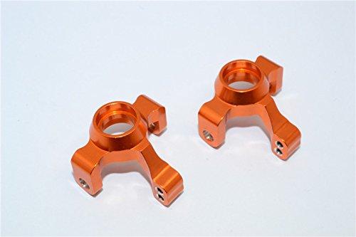 GPM Traxxas LaTrax Rally / SST / Teton Upgrade Parts Aluminum Front Knuckle Arm - 1Pr Set Orange