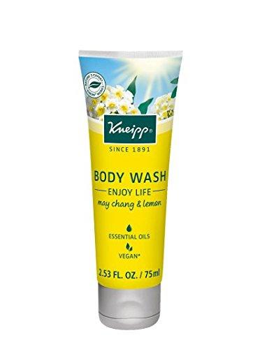 Kneipp Body Wash, Enjoy Life, May Chang and Lemon, 2.53 fl. Oz. (Essential Body Wash Kneipp Oils)