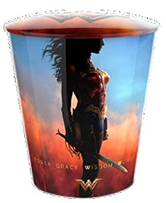 DC Comics Wonder Woman Movie Theater Exclusive 130 Metal Popcorn Tin #1 With Lid
