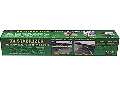 Valterra 020106 RV Stabilizer - Slideout Supports Rv
