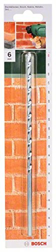 Bosch 2609255426 100mm Masonry Drill Bit with Diameter 6mm