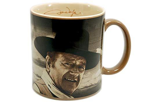 Fine Coffee Morning Mug - John Wayne Fine Morning 12 oz Coffee Mug