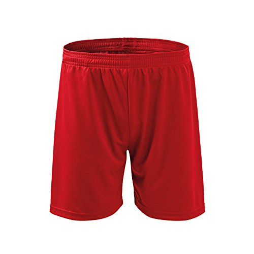 Men's Sport Shorts Loose Fit With Small Inner Pocket - NO Mesh Liner NO Draw String - Red Size: - Shorts Running No Liner