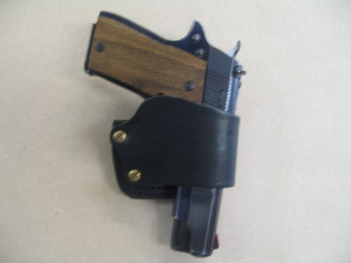 Firestar, Star PD, Star BM, LLama 1911 Leather Belt Slide Holster Black USA